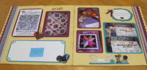 Lowell quilt scrap pages 1 1-16